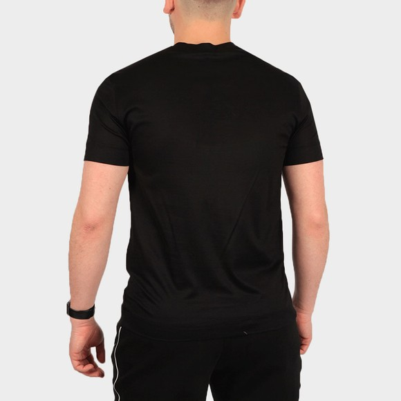 Emporio Armani Mens Black 3K1TAC Logo T Shirt main image