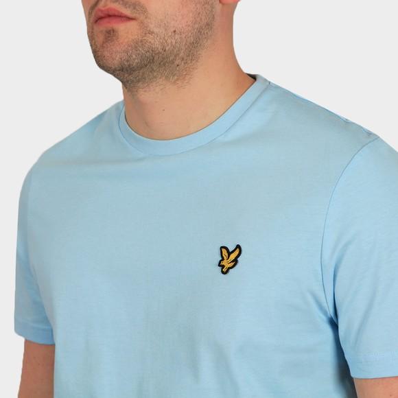 Lyle and Scott Mens Blue Basic T-Shirt main image