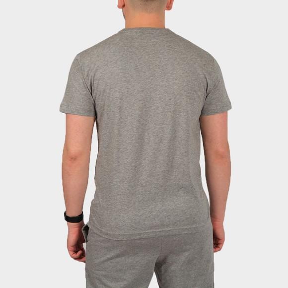 EA7 Emporio Armani Mens Grey Large Logo Hex T Shirt main image