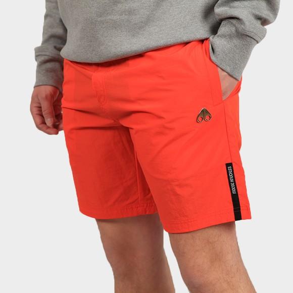 Moose Knuckles Mens Orange Supergrass Swim Short