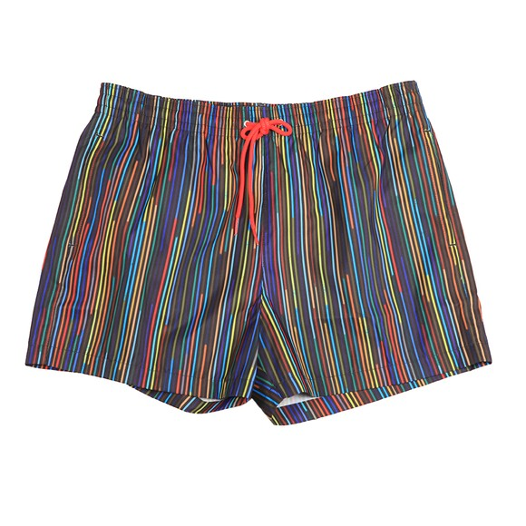 Paul Smith Mens Multicoloured Championship Stripe Swim Short
