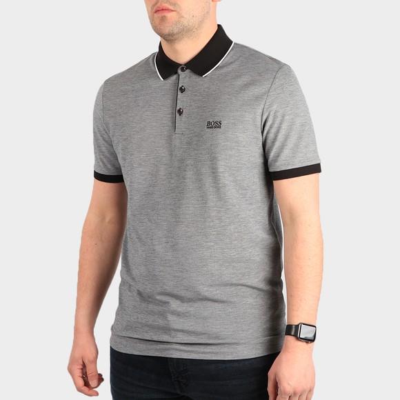 BOSS Mens Black Formal Prout Polo Shirt