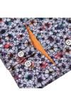 Guide London Mens Multicoloured Floral Shirt