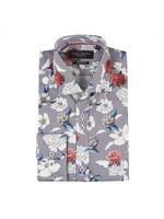 Stripe Flower Shirt