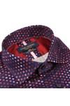 Guide London Mens Red Spot Shirt