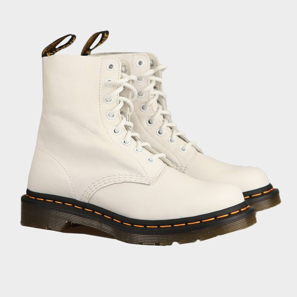 Dr. Martens Womens White Pascal Boot