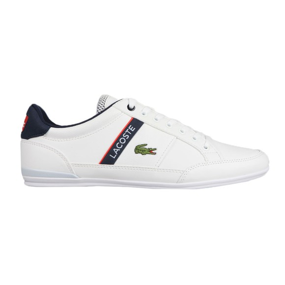 Lacoste Mens White Chaymon 0120 Trainer