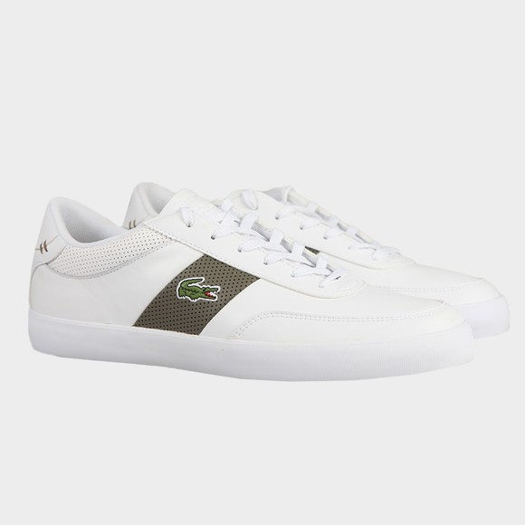 Lacoste Mens White Court Master 0721 Trainer