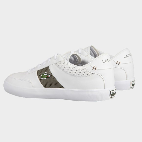 Lacoste Mens White Court Master 0721 Trainer main image