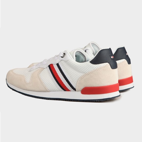 Tommy Hilfiger Mens Multicoloured Iconic Material Mix Runner Trainer main image