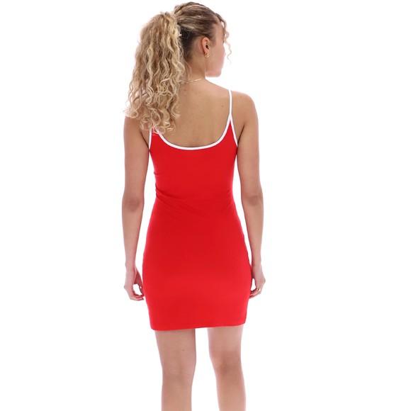 Fila Womens Red Carluccia Zip Through Body Con Dress main image