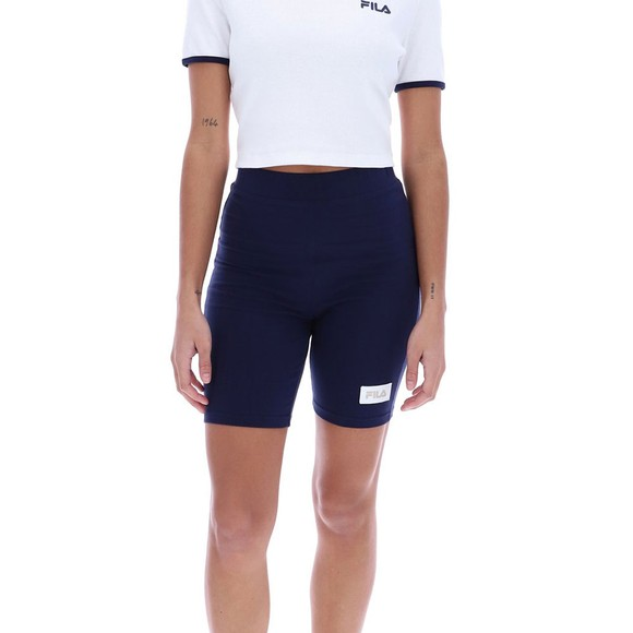 Fila Womens Blue Ombretta Legging Short