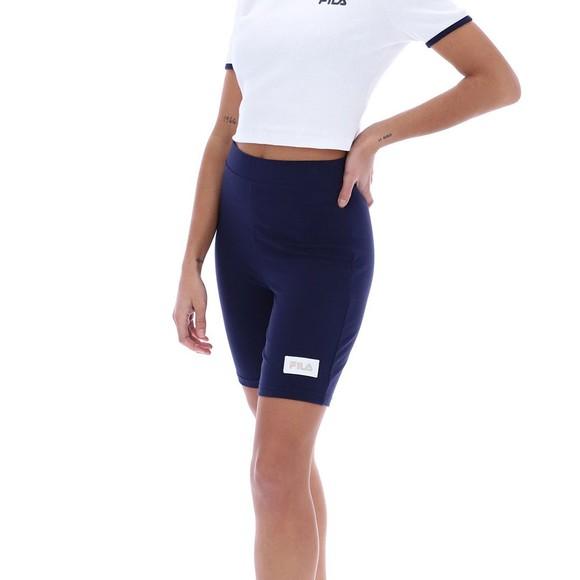 Fila Womens Blue Ombretta Legging Short main image