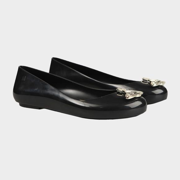 Vivienne Westwood Anglomania X Melissa Womens Black Sweet Love Viv Orb Shoe