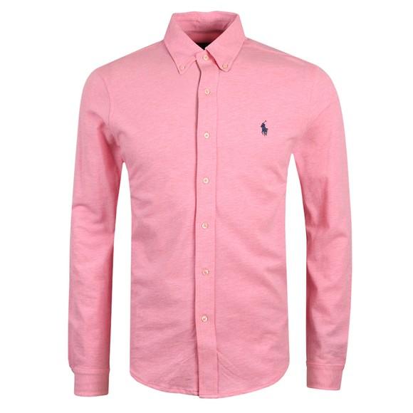 Polo Ralph Lauren Mens Pink Featherweight Mesh Shirt