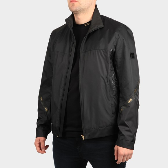 BOSS Mens Black Athleisure J Zircon Jacket