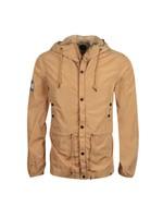 Zip Though Nylon Hooded Jacket