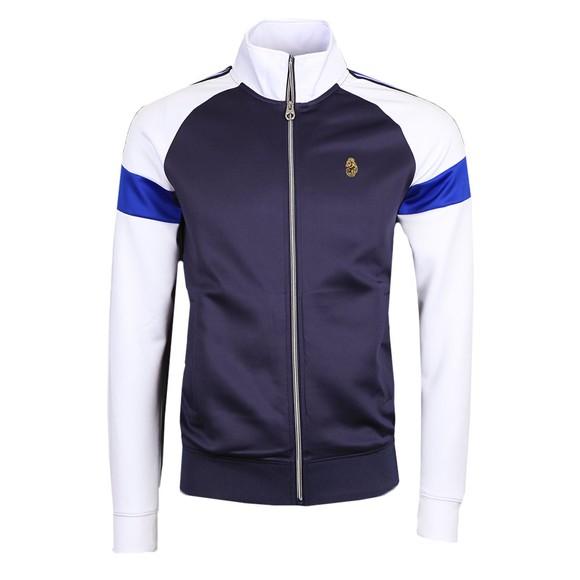 Luke Sport Mens Blue Kas 3 Full Zip Sweatshirt main image
