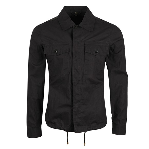 Belstaff Mens Black Recon Overshirt