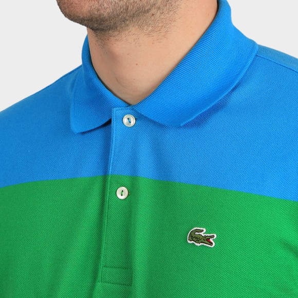 Lacoste x Polaroid Mens Multicoloured PH2082 Stripe Polo Shirt main image