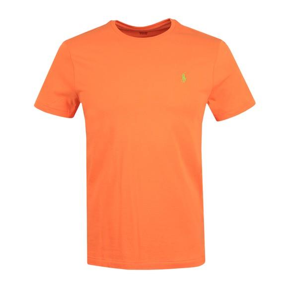 Polo Ralph Lauren Mens Orange Custom Slim Fit T-Shirt