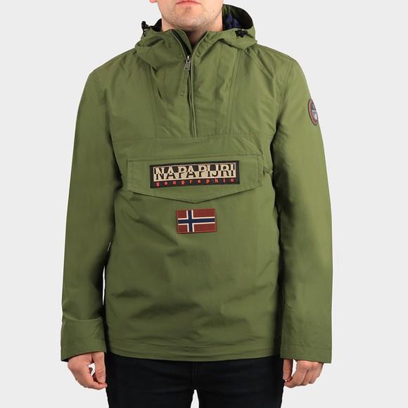 Napapijri Mens Green Rainforest Summer Jacket