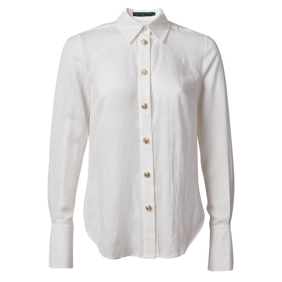 Holland Cooper Womens White Classic Shirt