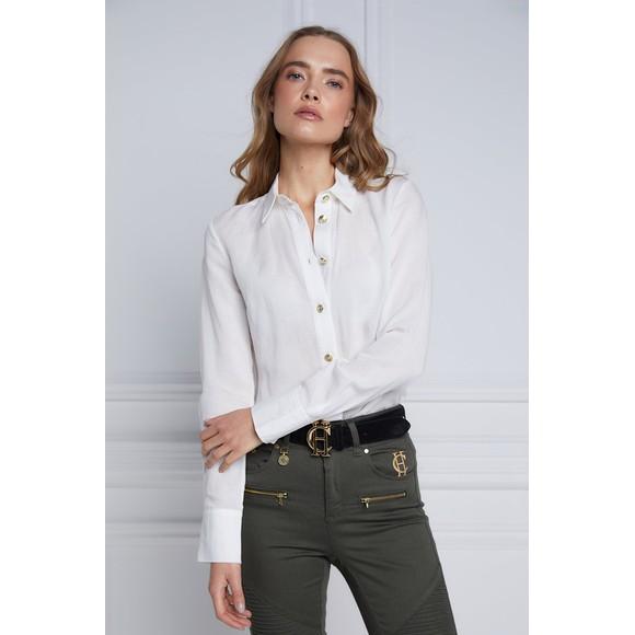 Holland Cooper Womens White Classic Shirt main image