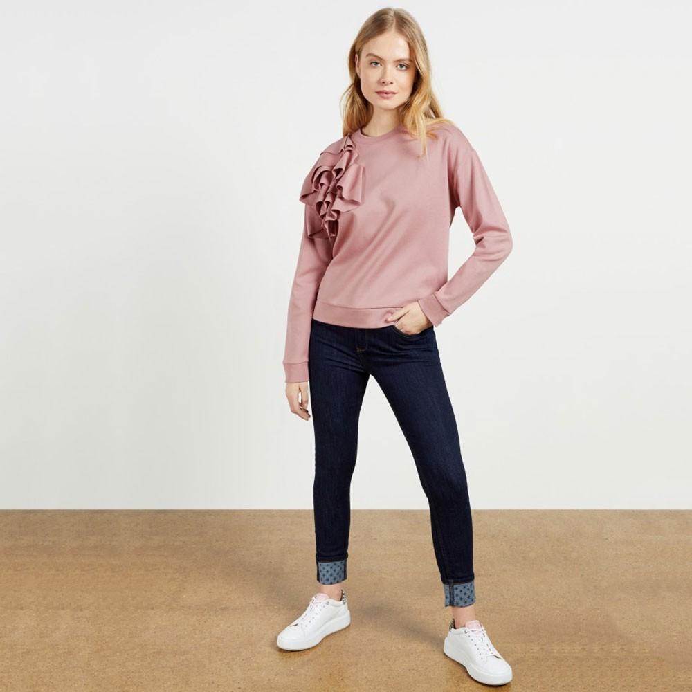 Ozai Sweatshirt With Ruffles main image