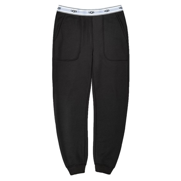 Ugg Womens Black Cathy Jogger