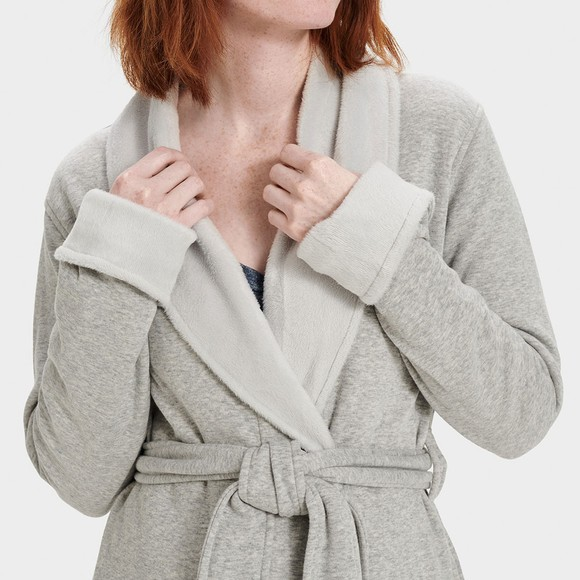 Ugg Womens Grey Blanche II Dressing Gown main image