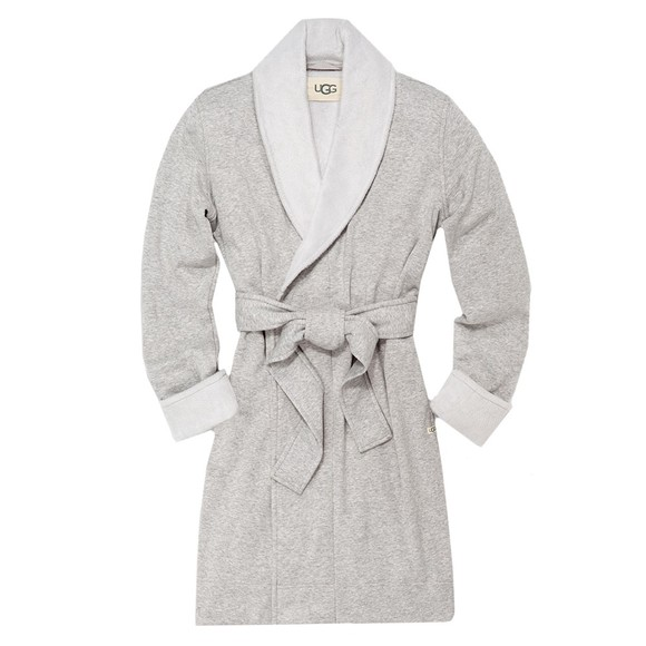 Ugg Womens Grey Blanche II Dressing Gown