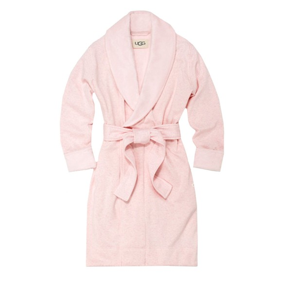 Ugg Womens Pink Blanche II Dressing Gown