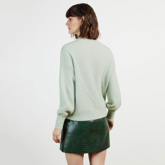 Ted Baker Womens Green Ummaa Chunky Sweater main image