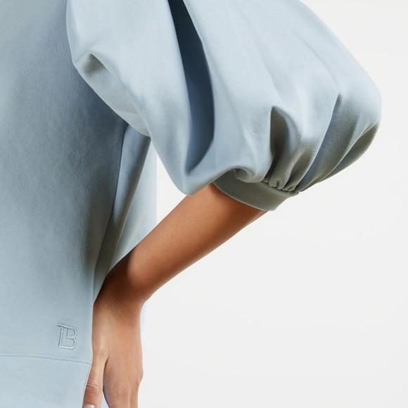 Ted Baker Womens Blue Irissa Puff Sleeve Sweatshirt main image