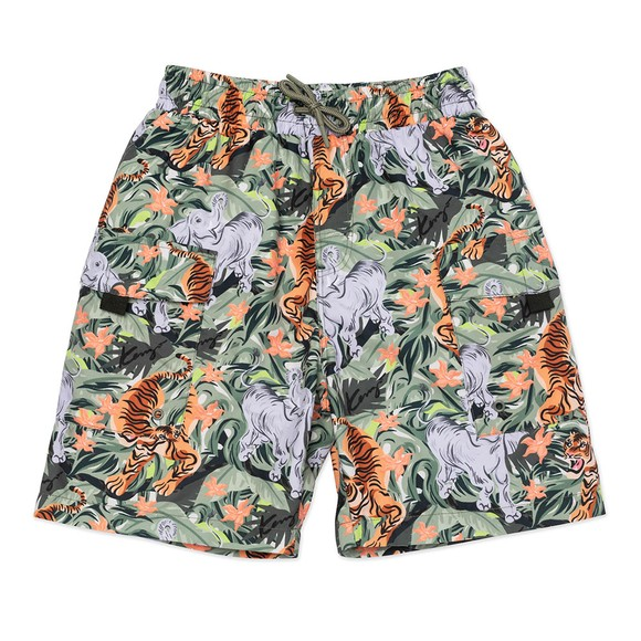 Kenzo Kids Boys Green K24022 Swim Short