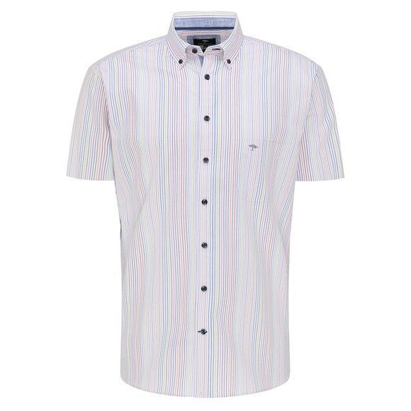 Fynch Hatton Mens Multicoloured 6061 Short Sleeve Shirt