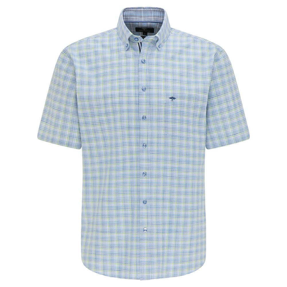 8111 Summer Check Short Sleeve Shirt main image