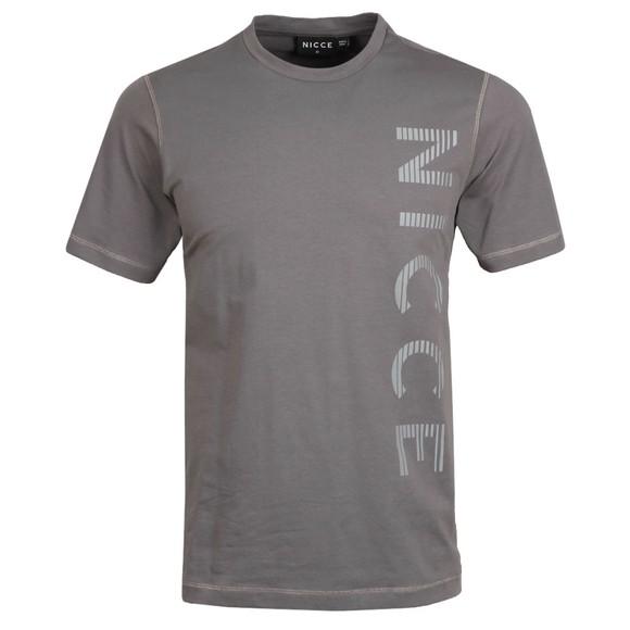 Nicce Mens Grey Sprint T-Shirt