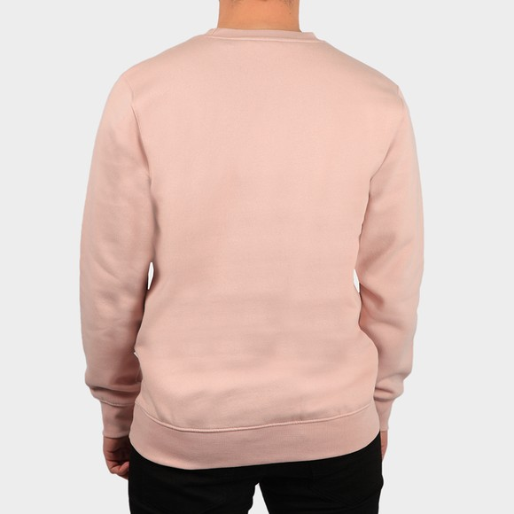 Nicce Mens Pink Centre Logo Sweatshirt main image