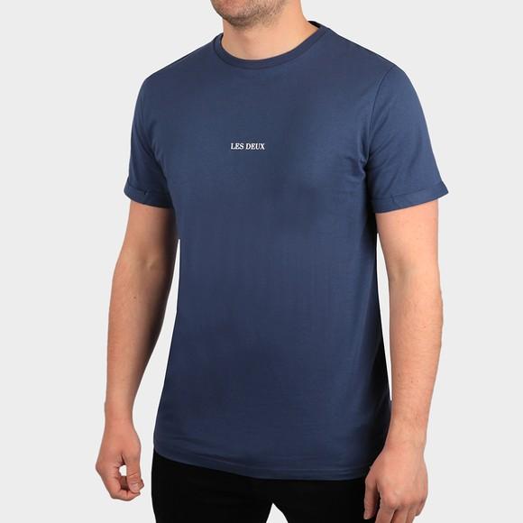 Les Deux Mens Blue Lens T-Shirt
