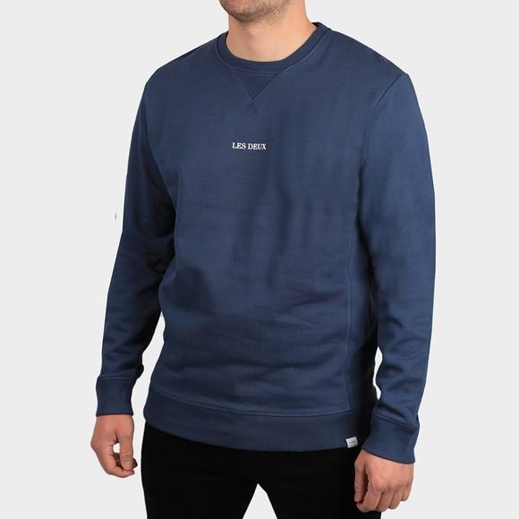 Les Deux Mens Blue Lens Sweatshirt