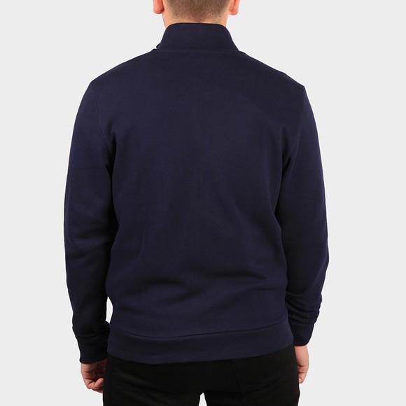 Lacoste Mens Blue Full Zip Sweatshirt main image