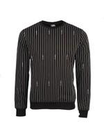 Pinstripe Crew Sweatshirt
