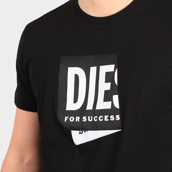Diesel Mens Black Diegos Lab T Shirt main image