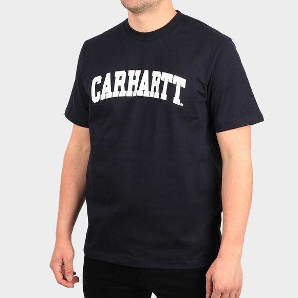 Carhartt WIP Mens Blue University T-Shirt