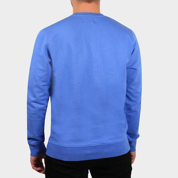 Colorful Standard Mens Blue Organic Crew Sweatshirt main image