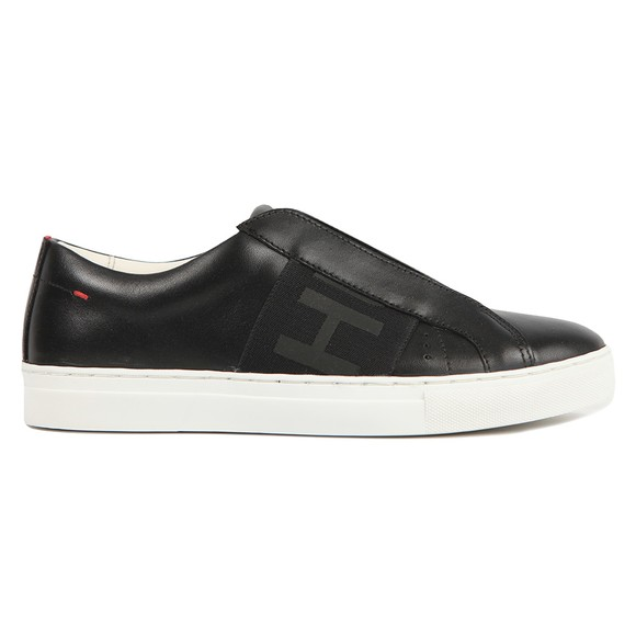 HUGO Womens Black Futurism Low Cut Trainer