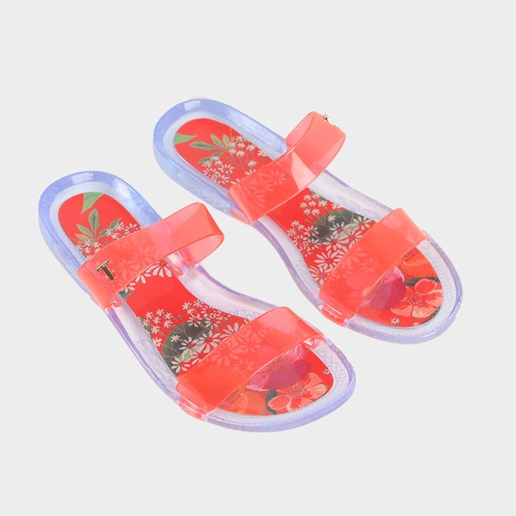 Ted Baker Womens Pink Alenuh Metropolis Two Strap Jelly Sandal main image