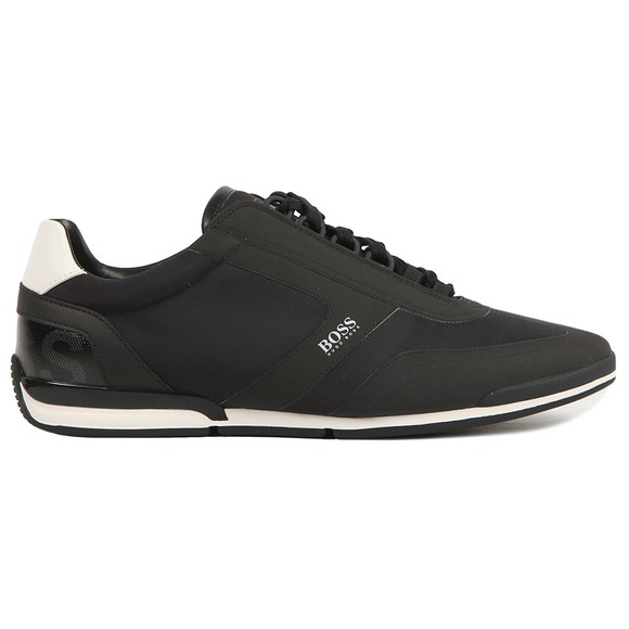 BOSS Mens Black Athleisure Saturn Low NYRS Trainer
